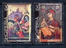 ALBANIA 1999 Ikons Of Onufri Set Of 2  MNH / **.  Michel 2712-13 - Albania