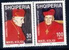 ALBANIA 1998 Cardinal Koliqi Set Of 2 MNH / **.  Michel 2672-73 - Albania