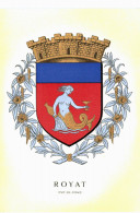Royat Blason R Louis - Royat