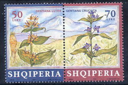 ALBANIA 2000 Medicinal Plants Set Of 2 MNH / **.  Michel 2776-77 - Albania