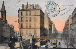CPA - MARSEILLE - Le Cours Lieutaud - Daté 19.04.1906 - En Bon Etat - The Canebière, City Centre