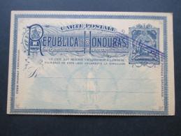 Honduras Ganzsache Blanko Mit Stempel. Ungelaufen! - Honduras
