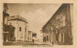 CPA Barjac-Place Du Docteur Roques-RARE   L2148 - Frankreich
