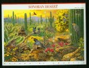 USA United States 1999,10V In Sheetlet,birds,vogels,ois Eaux,vögel,Sonoran Desert,MNH/Postfris, (L2410u - Vogels
