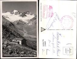 270809,Jamtalhütte Berghütte Geg. Jamtalferner Jamspitze U. Dreiländerspitze Bergkuli - Postcards