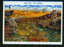 USA United States 2003,10V In Sheetlet,birds,vogels,oiseaux,vöge,uccelli,bisons,bear,Arctic Tundra,MNH/Postfris, (L2411u - Unclassified