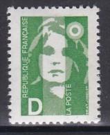 2711Marianne Du Bicentenaire D Vert - 1989-96 Marianna Del Bicentenario