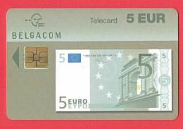 Télécarte - BELGACOM - 5 Eur - 1997 - 1998       (4291) - Telefoni