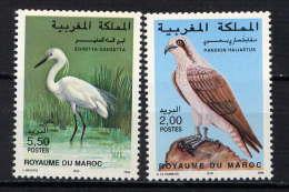 MAROC - 1200/1201** - OISEAUX - Morocco (1956-...)