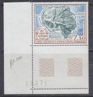TAAF 1990 Ile Aux Cochons 1v (corner) ** Mnh (F5404B) - Luchtpost