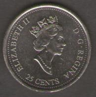 CANADA 25 CENTS 2000 INGENUITY INGENIOSITE - Canada