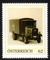 ÖSTERREICH 2013 ** POST Bus, Paketwagen PERL Elekto Von 1926 - PM Personalisierte Marke MNH - Post