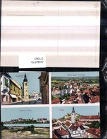 271963,Slowenien Pettau Ptuj Totale Kirche Hauptplatz Turm Geschäft Mehrbildkarte - Slowenien