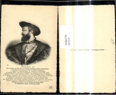 267210,Künstler Ak Francois 1er Frankreich Geschichte Politik - Geschichte