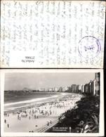 273006,Brasilien Rio De Janeiro Copacabana Strand Strandleben - Brasilien