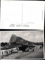 272944,Spanien Gibraltar Rock From Spanish Town Teilansicht Berg - Gibraltar