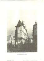 Planche Troyes (10) Rue Du Cheval Blanc à Troyes éditions De Sancey - Vieux Papiers