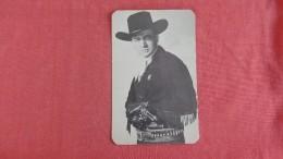Tex Ritter    Cowboy Ref  2276 - Célébrités