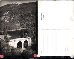 273841,Fernsteinsee See M. Ruine Siegmundsburg U. Wanneck Brücke B. Nassereith - Autriche