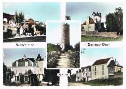 D19 - TURENNE GARE - SOUVENIR DE TURENNE GARE - CPSM Grand Format - MULTIVUES - Francia