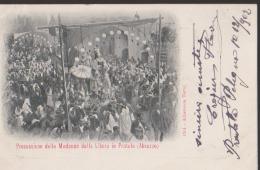 CPA:Pratola:Processione Della Madona Della Libera - Autres Villes
