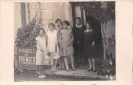 ¤¤  -  Carte-Photo  -   CHATUZANGE-le-GOUBET   -  Groupe De Femmes Devant Un Café En 1929     -  ¤¤ - Sin Clasificación