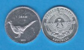 "NAGORNO  KARABAKH  1 DRAM 2.013  2013 ""Ave-Bird"" Aluminio/Aluminium   SC/UNC  T-DL-10.769 - Nagorno-Karabakh"