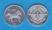 "NAGORNO  KARABAKH  50 Luma 2.013  2013 ""Caballo/Horse"" Aluminio/Aluminium   SC/UNC  T-DL-10.767 - Nagorno-Karabakh"