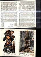 267941,Künstler Ak Reklame Vlaanderen Herbouwt Zijn Toren 1959 Kaaskerke - Advertising