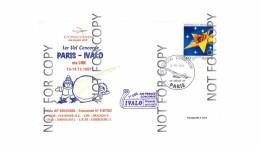 Air France First Concorde Flight Cover Paris (France)-Ivalo (Finland) 13.12.97 Vv - Brieven En Documenten