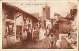 Tunis - Souk Des Armes - Carte LL Sépia N°107 - Tunisia