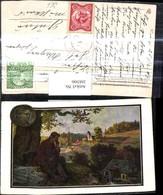 268306,Künstler Ak Eichendorff Schaut A. Wassermühle Landschaft Lyriker Schriftstelle - Künstler