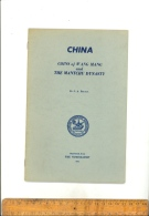 Chinese Coins Of WANG MANG And The Mantchu Dynasty BRUDIN Reprinted The Numismatist 1963 (english Text) China Coin Book - Books & Software