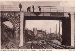 V4329 Cpa 19 Eygurande Merlines -  Le Pont Supérieur - Eygurande
