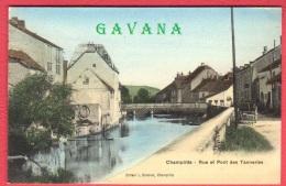70 CHAMPLITTE - Rue Et Pont Des Tanneries - Frankrijk