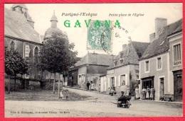 72 PARIGNE-l'EVEQUE - Petite Place De L'église - Autres Communes