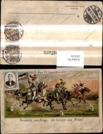 283628,Künstler Litho Zum 23 September 1901 Ritter A. Pferden Spruch - Geschichte