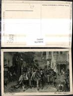 268992,Künstler Ak F. Defregger Das Letzte Aufgebot Tiroler Freiheitskampf - Geschichte