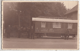 Paard Met Woonwagen - L. Toonen En Zonen - Rietdekkers - Bennekom - Fotokaart - Carte Photo - Ede