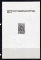 Centenaire Zwartdruk Black Print NL ZNP1 - Feuillets Noir & Blanc