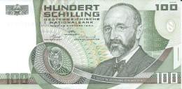 ÖSTERREICH 100 Schilling Banknote Von 1984 Pick 150 Gebraucht Siehe Scan - Austria