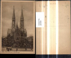 283909,Wien Kirche Votivkirche U. Schottenring - Kirchen U. Kathedralen