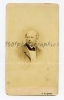 CDV Victor Angerer Photographie, Jschl. Portrait De Monsieur Burst. - Unclassified