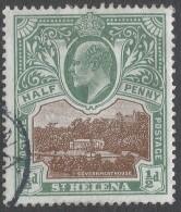 St Helena. 1903 KEVII. ½d Used. SG 55 - Saint Helena Island
