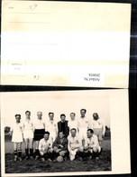 284058,Foto Ak Gruppenbild Fußballer Sport Fussball Fußball - Fussball