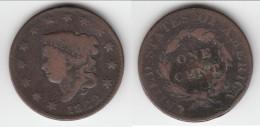 **** USA - ETATS-UNIS - 1 CENT 1822 - ONE CENT 1822 LIBERTY HEAD **** EN ACHAT IMMEDIAT !!! - 1816-1839: Coronet Head (Testa Coronata