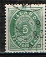 ISLANDE /Oblitérés/Used/1882 - Chiffre / Dent 14x131/2 - 1873-1918 Dépendance Danoise