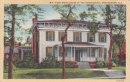 Alabama Montgomery First White House Of The Confederacy 1946 Cur
