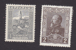 Bulgaria, Scott #128, 131, Mint No Gum/Hinged, View Of Veles, Tsar Ferdinand, Issued 1918 - 1909-45 Kingdom