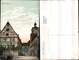 285914,Rothenburg Ob D. Tauber Weinstube Zum Meistertrunk Brunnen - Ohne Zuordnung